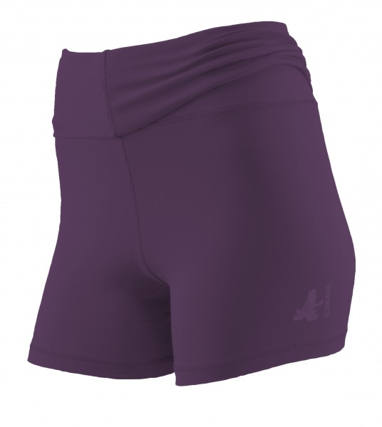 Breath #12 Roll Down Shorts - purple