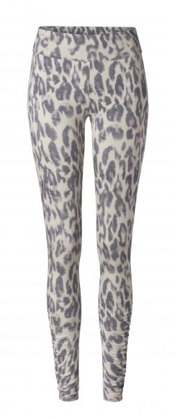 Flow #36 Leggings, Roll Down Ruffled Leoprint new leopard