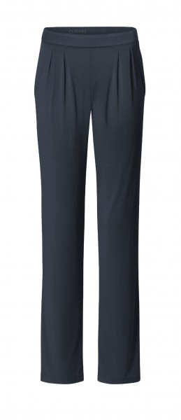 Flow #9124 Wide Pants - midnight-blue