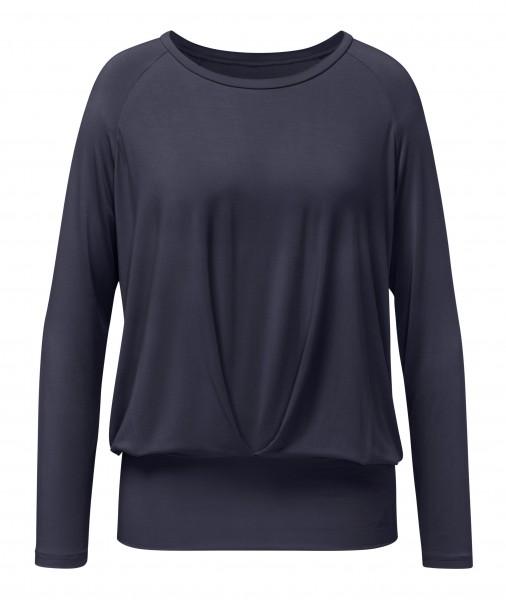 8 BRIGITTE Boxpleat Shirt - blueblack