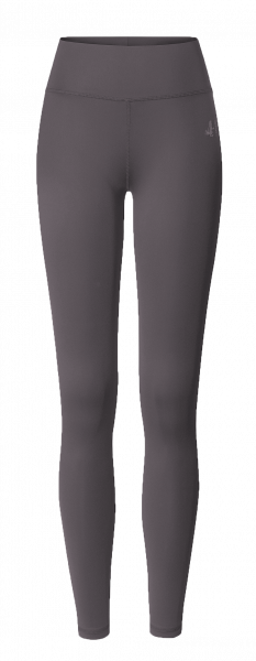 Breath #9128 leggings high waist - grau aubergine