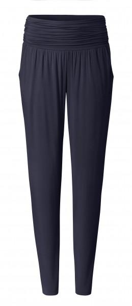 2 BRIGITTE long loose pants - blueblack