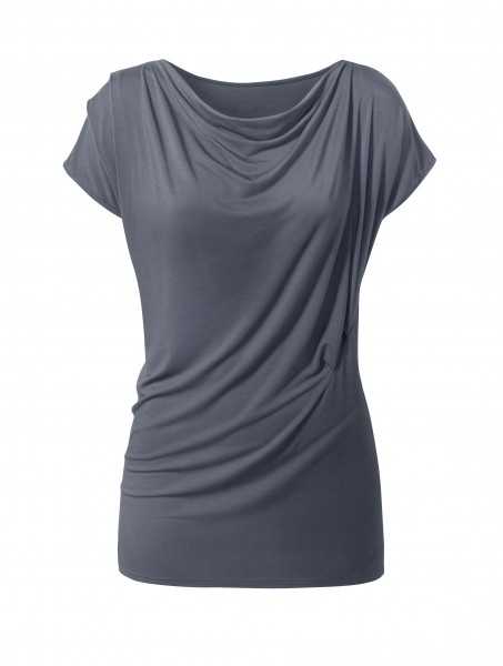 Nr. 3 New Waterfall T-Shirt by BRIGITTE anthracite grey