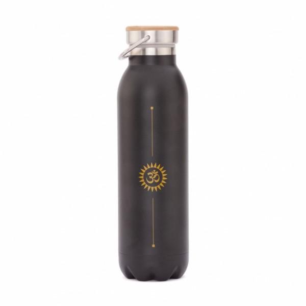 Isolier-Trinkflasche 600 ml, Edelstahl OM,
