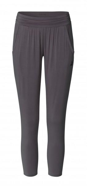 7 BRIGITTE Loose Pants 7/8 - aubergine-grey
