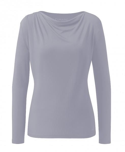Flow #2275 Shirt waterfall 1/1 sleeves - new pearl