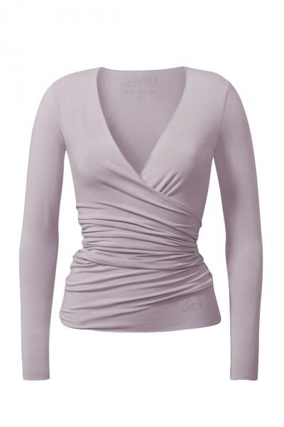 Flow #24 Wrap Jacket - puder-rosa
