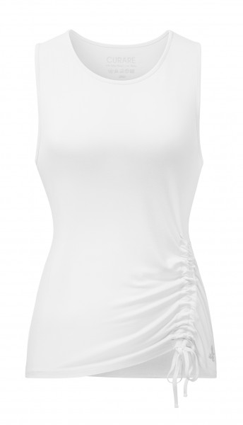 Flow #9224 Tank Top Cord - white