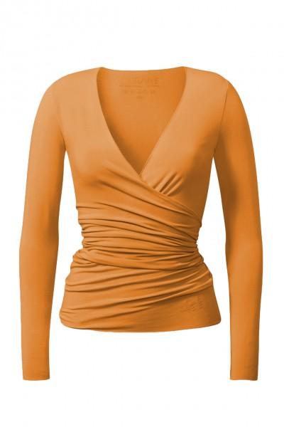 Flow #24 Wrap Jacket aprikose