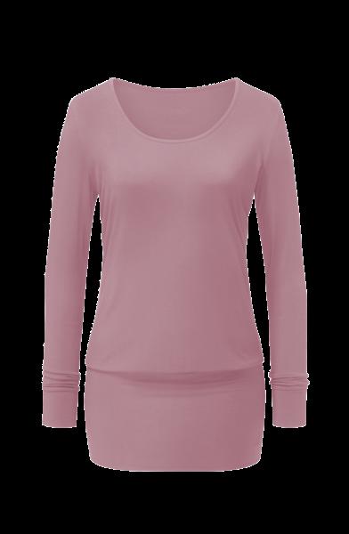 Flow #1203 long shirt 1/1 sleeves - smoke-lavender