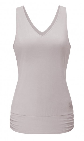 Flow #2113 Tanktop V-Neck - puder