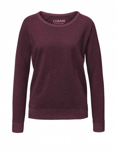 Complement #238 Rundhals Sweater kastanie-melange