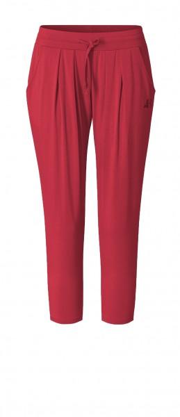 #9125 7/8 Pants - cherry