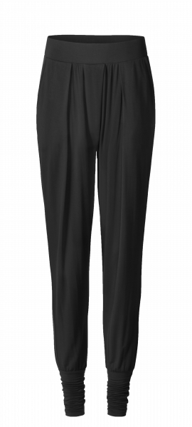 Flow #1204 Long Pants wide cuffs - black