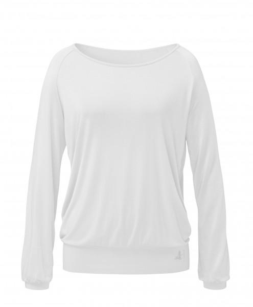 Flow #254 Shirt Langarm Raglan - white