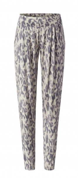 Flow #9248 Pants loose - sand leopard