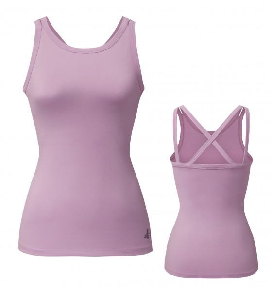 Breath #2236 top criss cross - pastel pink