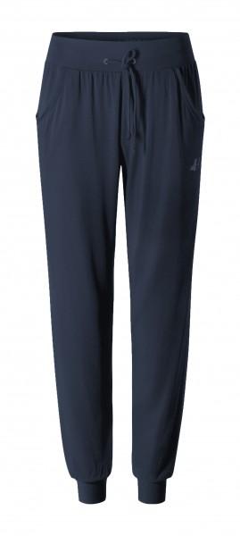 Flow #9246 Pants long loose - midnight-blue