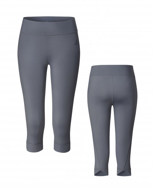 Nr. 2 New Yogaleggings 3/4 by BRIGITTE - anthracite grey