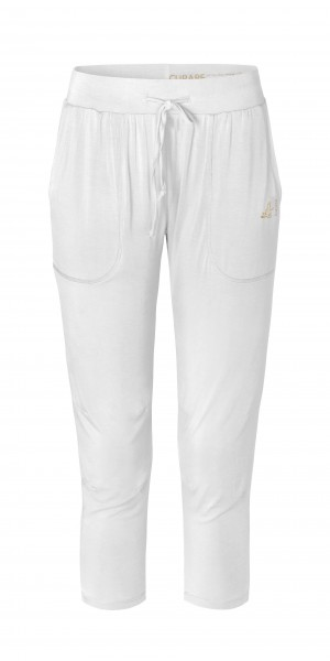 Flow #268 7/8 Pants Gold Edition - white