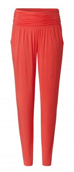 2 BRIGITTE long loose pants - coralred
