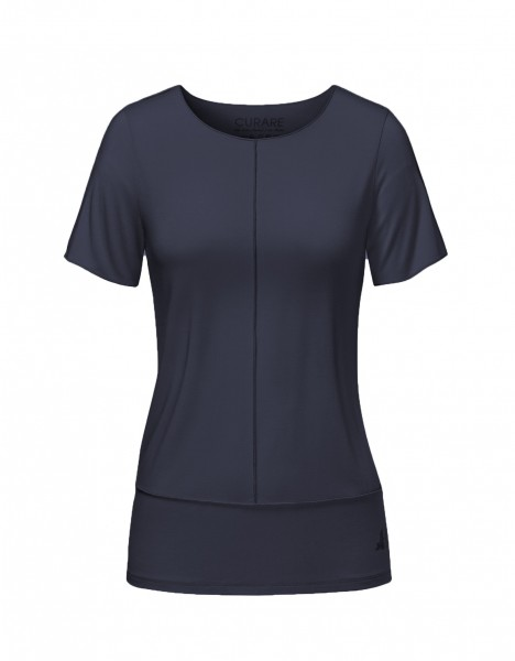 Flow #8204 Shirt mit Biesen - midnight-blue