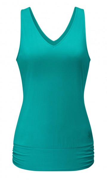 Flow #2113 Tanktop V-Neck - green lagoon