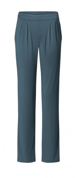 Flow #9124 Wide Pants - petrol