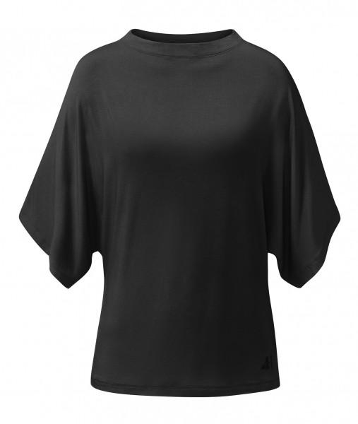 Flow #2116 batwing shirt - black