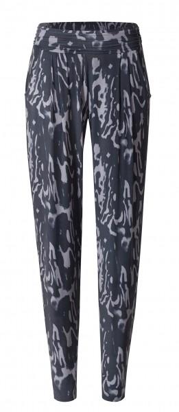 Flow #9248 Pants loose - marbled-print