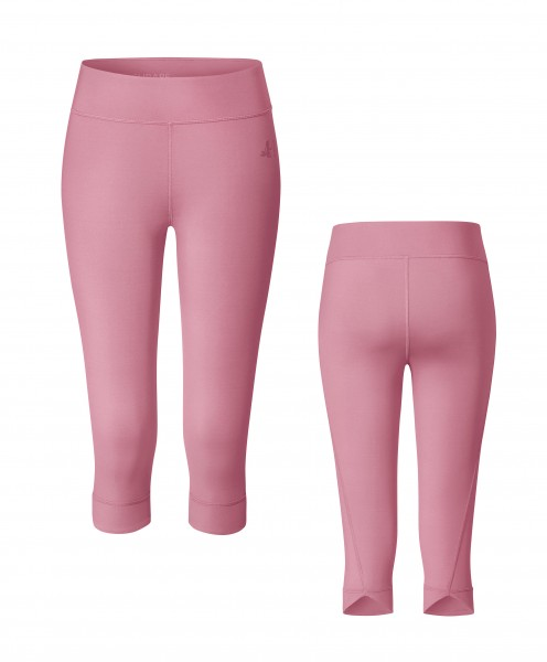 Nr. 2 New Yogaleggings 3/4 by BRIGITTE - coral pink