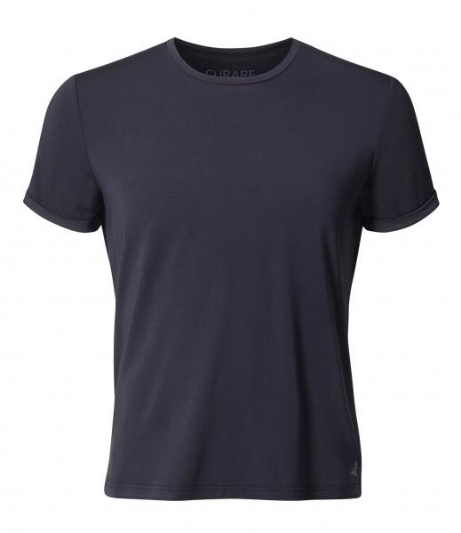 Flow #2132-M Mens T-Shirt - midnight-blue