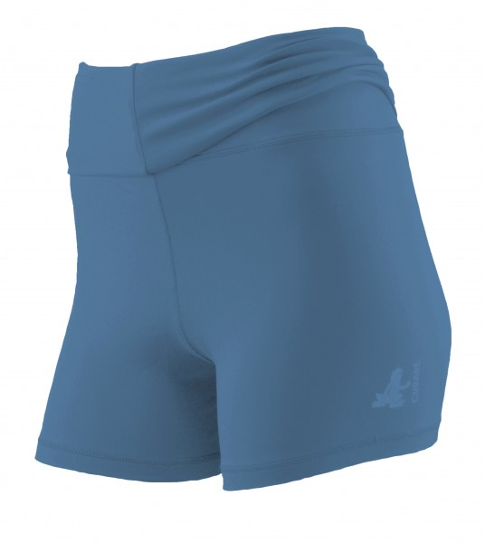 Breath #12 Roll Down Shorts - horizon-blue-