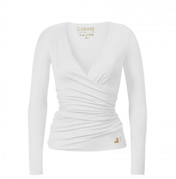 Flow #24 Wrapjacket Gold Edition - white