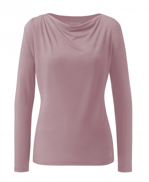 Flow #2275 Shirt waterfall 1/1 sleeves - smoke lavender