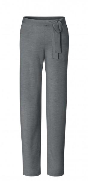 #8226 wide pants aus Merinowolle - anthrazit-melange