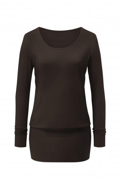 Flow #178 Dress Shirt - chocolate