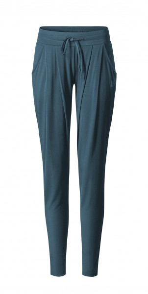 Flow #8221 Long Pants, Pockets - petrol