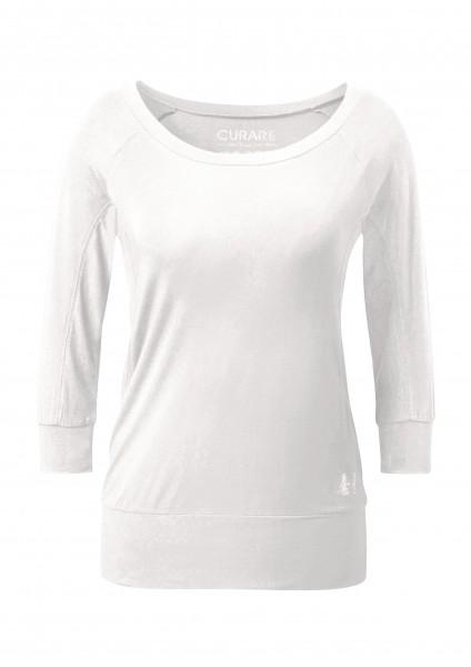 Flow #20 Shirt Boat Neck 3/4 - soft-white