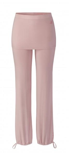 Flow #9247 Long Pants Skirt - rosewood