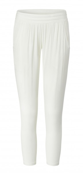 7 BRIGITTE Loose Pants 7/8 - pearl-white