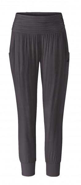 Flow #9249 pants 7/8 length - grau aubergine
