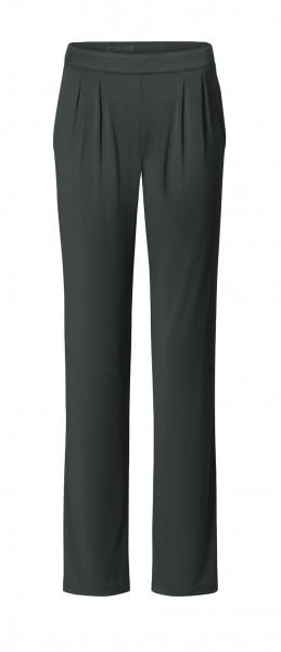 Flow #9124 Wide Pants - tafelgrau