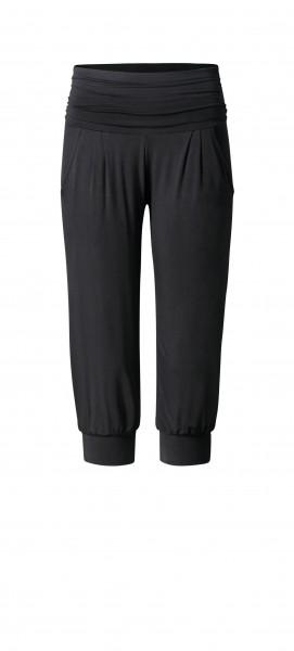 Flow #98 Loose Capri Pants Pockets