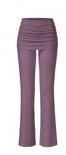 Flow #84 Long Pants Skirt - mauve