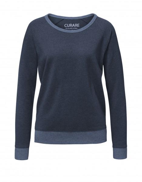 Complement #238 Rundhals Sweater - marine-melange