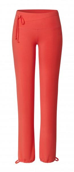 5 BRIGITTE Pants Straight - coralred