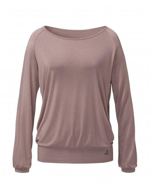 Flow #254 Shirt Langarm Raglan - nougat