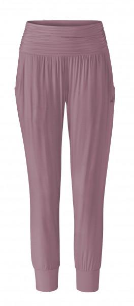 Flow #9249 pants 7/8 length - smoke lavender