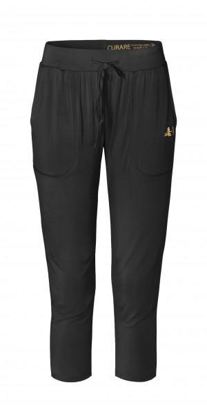 Flow #268 7/8 Pants Gold Edition - black